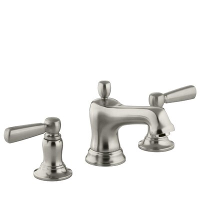Bancroft Widespread Double Handle Bathroom Faucet with Drain Assembly Finish: Vibrant Brushed Nickel