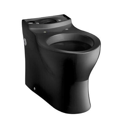 Persuade Elongated Toilet Bowl, Less Seat Finish: Black Black