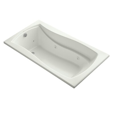 Mariposa 66 x 36 Whirlpool Bathtub Finish: Dune