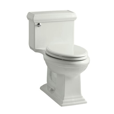 Memoirs Classiccomfort Height One-Piece Elongated 1.28 GPF Toilet with Aquapiston Flush Technology and Left-Hand Trip Lever Finish: Dune