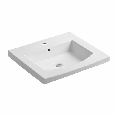 Persuade 25 Single Bathroom Vanity Top Finish: White