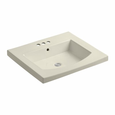 Persuade 25 Single Bathroom Vanity Top Finish: Almond