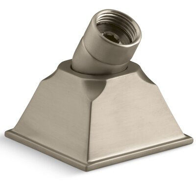 Memoirs Deck-Mount Handshower Holder with Hoses Finish: Vibrant Brushed Bronze