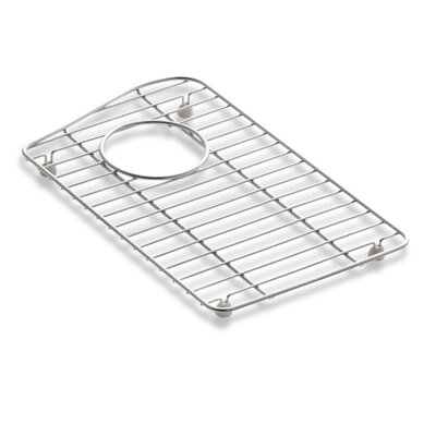 Lawnfield Stainless Steel Sink Rack, 15-13/32 x 16-1/2, for Right-Hand Bowl