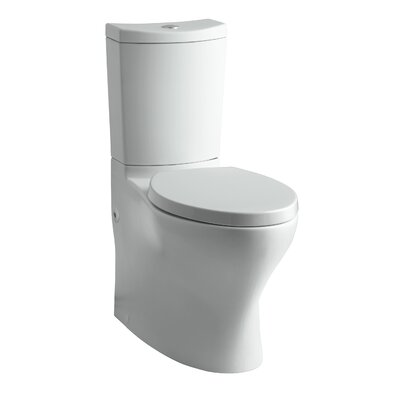 Persuade Comfort Height 2 Piece 1.6 GPF Elongated Toilet Finish: Ice Grey