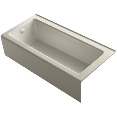 Bellwether Alcove 66 x 32 Soaking Bathtub Finish: Sandbar