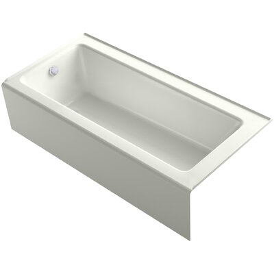 Bellwether Alcove 66 x 32 Soaking Bathtub Finish: Dune