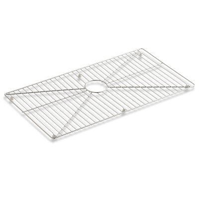 Vault /Strive Stainless Steel Sink Rack, 32 x 16-11/16 for 36 Single-Bowl Apron-Front Sink