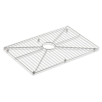 Vault /Strive Stainless Steel Sink Rack, 26 x 16-11/16 for 30 Single-Bowl Apron-Front Sink