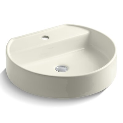 Chord Wading Pool Oval Vessel Bathroom Sink Finish: Biscuit