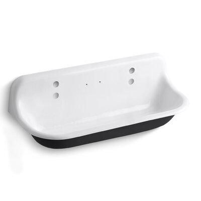 Brockway 48 x 17.5 Single Wall-Mounted Wash Sink