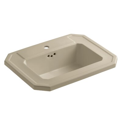 Kathryn Self Rimming Bathroom Sink Finish: Mexican Sand
