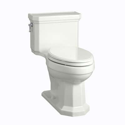 Bed Bath-Kohler Kathryn Comfort Height One Piece Elongated 1.6 GPF Toilet with Ingenium Flush Technology and Left Hand Trip Lever