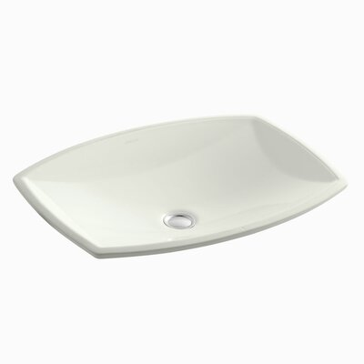 Kelston Rectangular Undermount Bathroom Sink Sink Finish: Dune
