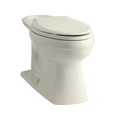 Kelston Toilet Bowl Finish: Almond