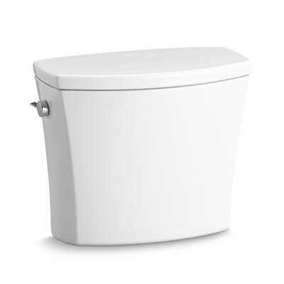 Kelston Toilet Tank with 1.28 Gpf Finish: White