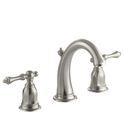 Kelston Widespread Bathroom Sink Faucet Finish: Vibrant Brushed Nickel