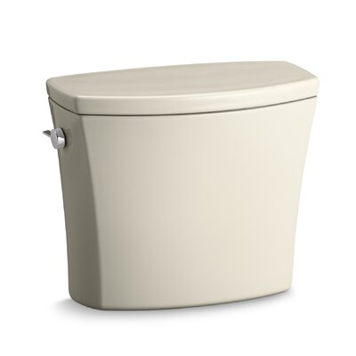 Kelston Toilet Tank with 1.28 Gpf Finish: Almond