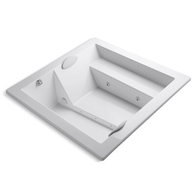 Consonance 70 x 70 Whirlpool Bathtub Finish: White