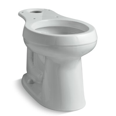 Cimarron Comfort Height Round-Front Bowl Finish: Ice Grey