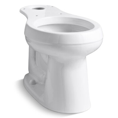 Cimarron Comfort Height Round-Front Bowl Finish: White