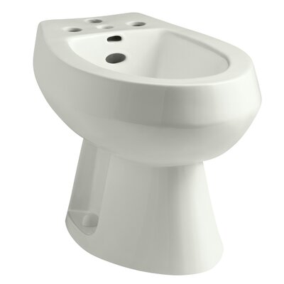 San Tropez Vertical Spray Bidet with 4 Faucet Holes Finish: Dune