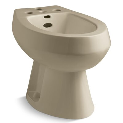 San Tropez Vertical Spray Bidet with 4 Faucet Holes Finish: Mexican sand