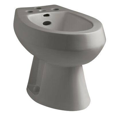 San Tropez Vertical Spray Bidet with 4 Faucet Holes Finish: Cashmere