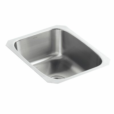 Undertone 16-1/4 x 20-1/2 x 8 Large Under-Mount Single-Bowl Kitchen Sink