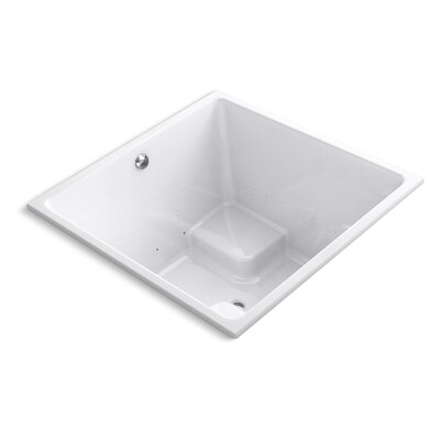 Underscore 48 x 48 Air Bathtub Finish: White
