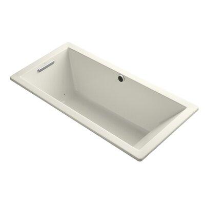 Underscore Bubblemassage 66 x 32 Soaking Bathtub Finish: Biscuit