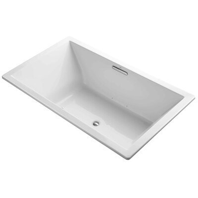 Underscore 72 x 42 Air Bathtub Finish: White