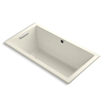 Underscore Bubblemassage 60 x 32 Soaking Bathtub Finish: Almond