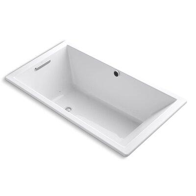 Underscore Bubblemassage 66 x 36 Soaking Bathtub Finish: White