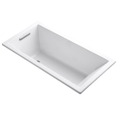 Underscore 60 x 30 Soaking Bathtub Finish: White