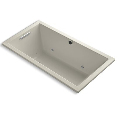 Underscore Bubblemassage 60 x 32 Whirpool Bathtub Finish: Sandbar