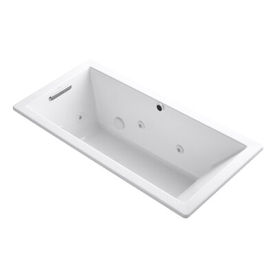 Underscore 66 x 32 Whirpool Bathtub Finish: White