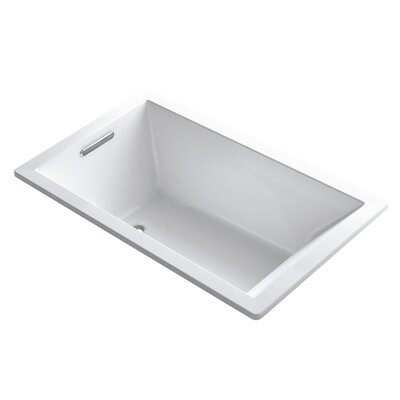 Underscore 60 x 36 Soaking Bathtub Finish: White