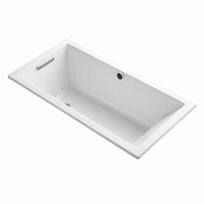 Underscore Bubblemassage 60 x 30 Soaking Bathtub Finish: White