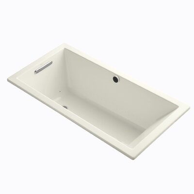 Underscore Bubblemassage 60 x 30 Soaking Bathtub Finish: Biscuit
