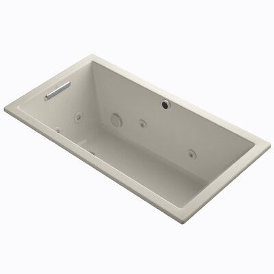 Underscore 60 x 32  Whirpool Bathtub Finish: Sandbar