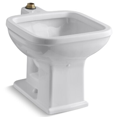 Tyrrell 21 x 27.13 Single Floor-Mounted Siphon-Jet Flushing Rim Service Sink