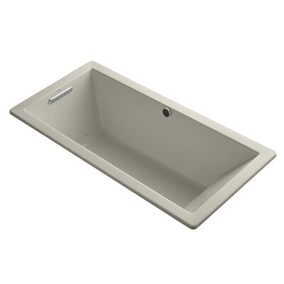 Underscore Bubblemassage 66 x 32 Soaking Bathtub Finish: Sandbar