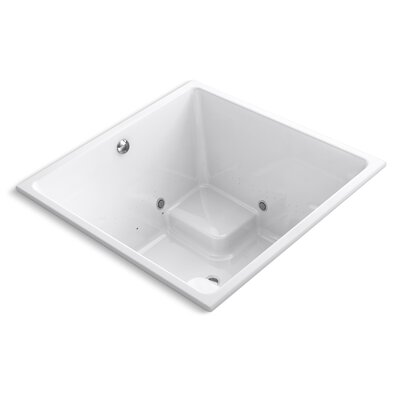 Underscore 48 x 48 Air Bathtub Finish: White