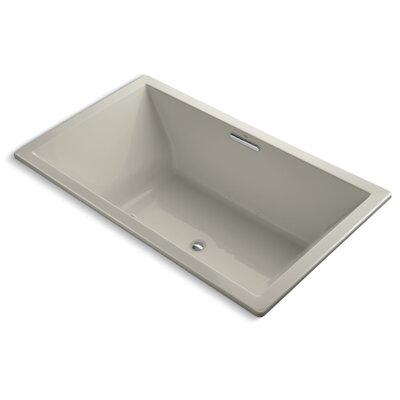 Underscore 72 x 42 Air Bathtub Finish: Sandbar