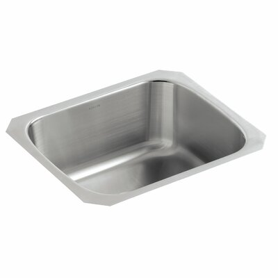 Undertone 18-1/2 x 15-3/4 x 8 Under-Mount Single-Bowl Kitchen Sink
