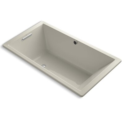 Underscore Bubblemassage 66 x 36 Soaking Bathtub Finish: Sandbar