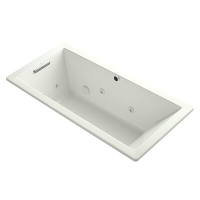 Underscore 66 x 32 Whirpool Bathtub Finish: Dune