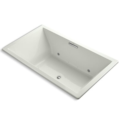 Underscore Bubblemassage 72 x 42 Whirpool Bathtub Finish: Dune