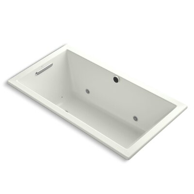 Underscore Bubblemassage 60 x 32 Whirpool Bathtub Finish: Dune